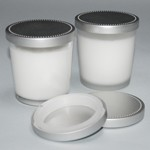 G7LID Aluminum  Lids for 7oz candle glass