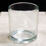 G7V (case) 7oz Glass Round Votives- 12ct