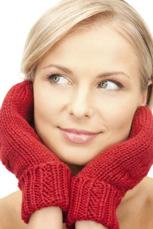 winter healthy skin