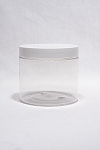 K16CJ (case) 16oz clear Single-Walled Jar- 30ct