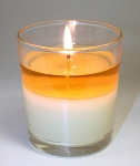 Peppermint Stick Coconut Wax Blend Candle - JCOC-PEP